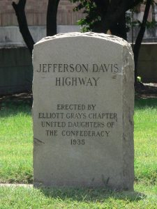A JDH marker in Richmond (By Morgan Riley - Own work, CC BY 3.0, https://commons.wikimedia.org/w/index.php?curid=15826316